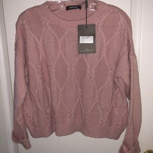Pink Missguided Sweater